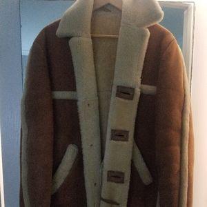 Matterhorn classic sheepskin coat